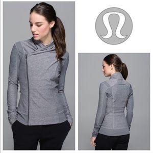 Lululemon Bhakti Yoga Jacket Heathered Slate